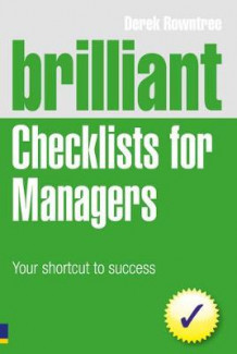 Brilliant Checklists for Managers av Derek Rowntree (Heftet)