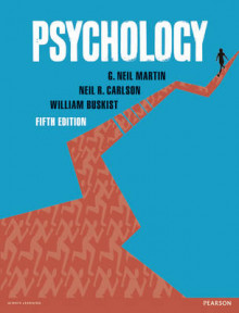 Psychology av G. Neil Martin, Neil R. Carlson og William Buskist (Heftet)