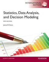 Omslag - Statistics, Data Analysis, and Decision Modeling