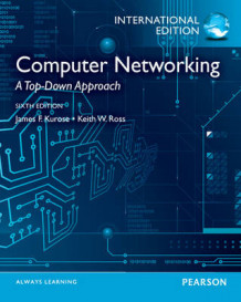 Computer Networking: A Top-Down Approach av James F. Kurose og Keith W. Ross (Blandet mediaprodukt)