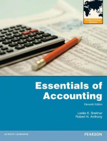 Essentials of Accounting with MyAccountingLab av Leslie K. Breitner og Robert N. Anthony (Blandet mediaprodukt)
