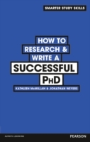 How to Research & Write a Successful PhD av Kathleen McMillan og Jonathan Weyers (Heftet)