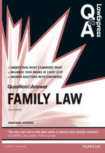 Law Express Question and Answer: Family Law av Jonathan Herring (Heftet)