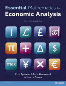 Essential Mathematics for Economic Analysis with MyMathLab Global Access Card av Peter J. Hammond, Knut Sydsaeter og Arne Strom (Blandet mediaprodukt)