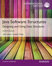 Java Software Structures,International Edition av John Lewis og Joseph Chase (Blandet mediaprodukt)