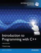 Omslag - Introduction to Programming with C++ Plus MyProgrammingLab with Pearson Etext