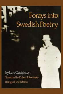 Forays into Swedish Poetry av Lars Gustafsson (Heftet)