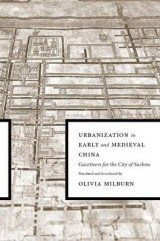 Omslag - Urbanization in Early and Medieval China