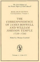 The Correspondence of James Boswell and William Johnson Temple, 1756-1795 av James Boswell Boswell og William Johnson Temple (Heftet)
