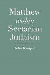 Omslag - Matthew within Sectarian Judaism