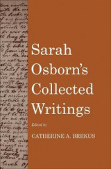 Omslag - Sarah Osborn's Collected Writings