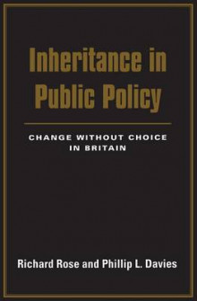 Inheritance in Public Policy av Richard Rose og Phillip L. Davies (Heftet)