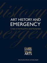 Omslag - Art History and Emergency