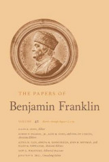 Omslag - The Papers of Benjamin Franklin: March 1 Through August 15, 1784 Volume 42