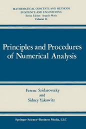 Principles and Procedures of Numerical Analysis av Ferenc Szidarovszky og Sidney J. Yakowitz (Heftet)