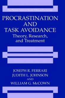 Procrastination and Task Avoidance av Joseph R. Ferrari, Jeannette L. Johnson og William G. McCown (Innbundet)