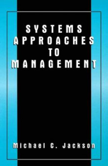 Systems Approaches to Management av Michael C. Jackson (Innbundet)