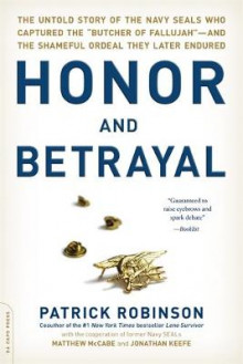Honor and Betrayal av Patrick Robinson (Heftet)