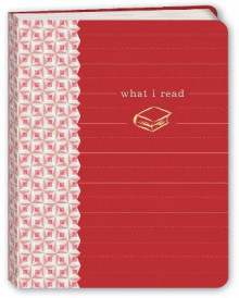 What I Read (Red) Mini Journal av Potter Style (Andre trykte artikler)