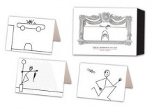 Great Moments in Film Notecards av Jeffrey Metzner (Undervisningskort)