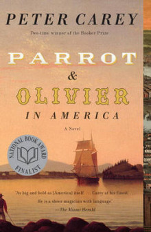 Parrot and Olivier in America av Peter Stafford Carey (Heftet)