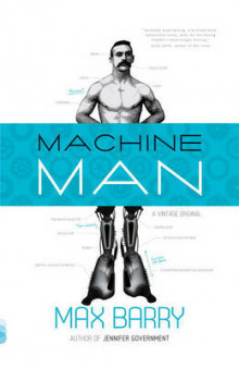 Machine Man av Max Barry (Heftet)