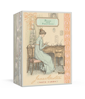 Jane Austen Note Cards av Potter Style (Dagbok)