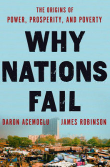 Why Nations Fail av Daron Acemoglu og James A Robinson (Innbundet)