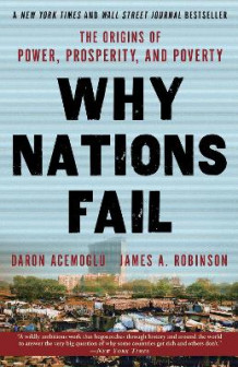 Why Nations Fail av Professor Daron Acemoglu og James a Robinson (Heftet)