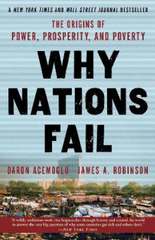 Why Nations Fail av Professor Daron Acemoglu og James Robinson (Heftet)