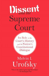 Omslag - Dissent and the Supreme Court