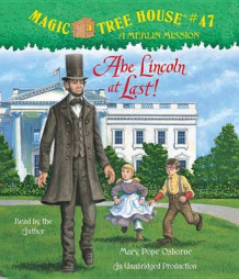 Abe Lincoln at Last! av Mary Pope Osborne (Lydbok-CD)