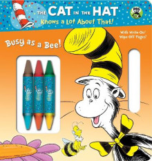 Busy as a Bee! (Dr. Seuss/Cat in the Hat) av Mary Tillworth (Pappbok)