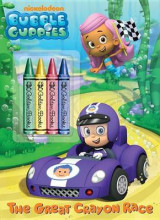 Omslag - The Great Crayon Race (Bubble Guppies)