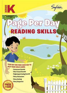 Kindergarten Page Per Day: Reading Skills av Sylvan Learning (Heftet)