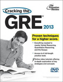 Cracking the GRE av Princeton Review (Blandet mediaprodukt)