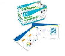 1st Grade Math Flashcards av Sylvan Learning (Undervisningskort)