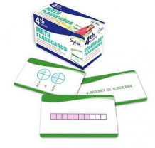 4th Grade Math Flashcards av Sylvan Learning (Undervisningskort)