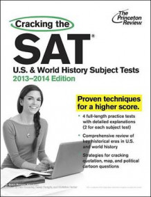 Cracking the SAT U.S. and World History Subject Tests av Grace Roegner Freedman (Heftet)