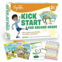 Sylvan Kick Start For Second Grade av Sylvan Learning (Heftet)
