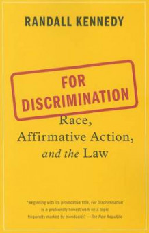 For Discrimination av Randall Kennedy (Heftet)