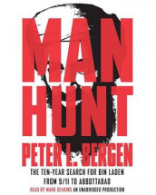 Manhunt av Peter L Bergen (Lydbok-CD)