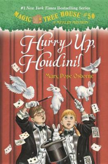 Hurry Up, Houdini! av Mary Pope Osborne (Innbundet)