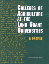 Colleges of Agriculture at the Land Grant Universities av Board on Agriculture, Committee on the Future of the Colleges of Agriculture in the Land Grant System og National Research Council (Heftet)