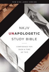 Omslag - NKJV, Unapologetic Study Bible, Hardcover, Red Letter Edition