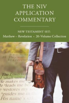 The NIV Application Commentary, New Testament Set: Matthew - Revelation, 20-Volume Collection av Michael J. Wilkins, Daniel Garland, Darrell L. Bock, Gary M. Burge, Ajith Fernando, Douglas  J. Moo, Craig L. Blomberg, Scott J. Hafemann, Scot McKnight og Klyne Snodgrass (Innbundet)