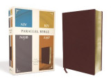Omslag - NIV, KJV, NASB, Amplified, Parallel Bible, Bonded Leather, Burgundy