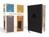 Omslag - NIV, KJV, NASB, Amplified, Parallel Bible, Leathersoft, Black