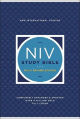 Omslag - NIV Study Bible, Fully Revised Edition, Hardcover, Red Letter, Comfort Print