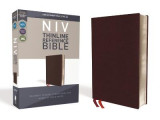 Omslag - NIV, Thinline Reference Bible, Bonded Leather, Burgundy, Red Letter Edition, Comfort Print